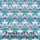 Sacred Geometry Video Patterns (SD) - Flower of Life and Rectangulars