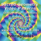 Sacred Geometry Video Patterns (SD) - Pentagonals