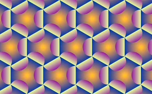 Video Patterns: Hexagonals