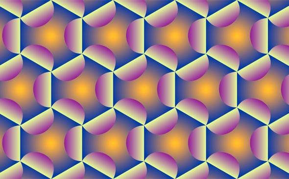 Video Patterns: Hexagonals