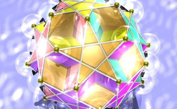 Polyhedra: Illustrations of Platonic And Archimedean Solids