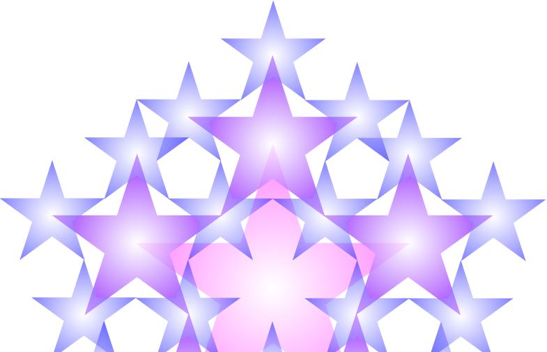 PastelPentagramFractal