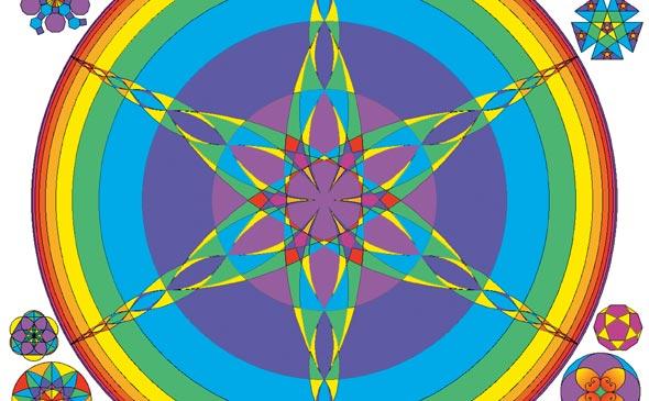 Sacred Geometry Design Sourcebook - Universal Dimensional Patterns by Bruce Rawles