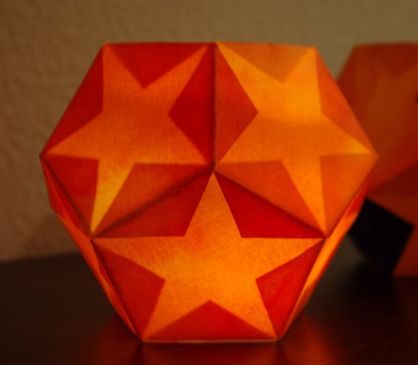 Dodecahedron Star Lantern