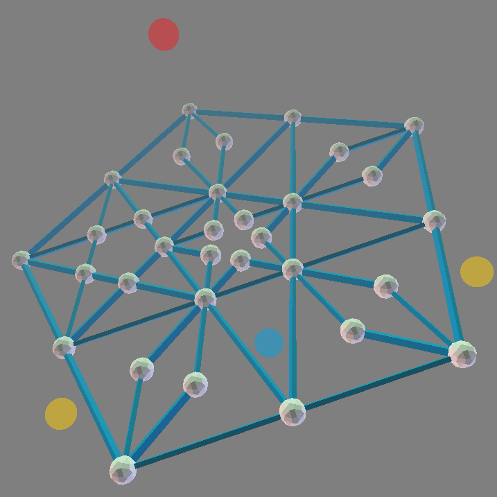 ZomePad model - pentagram/pentagon fractal