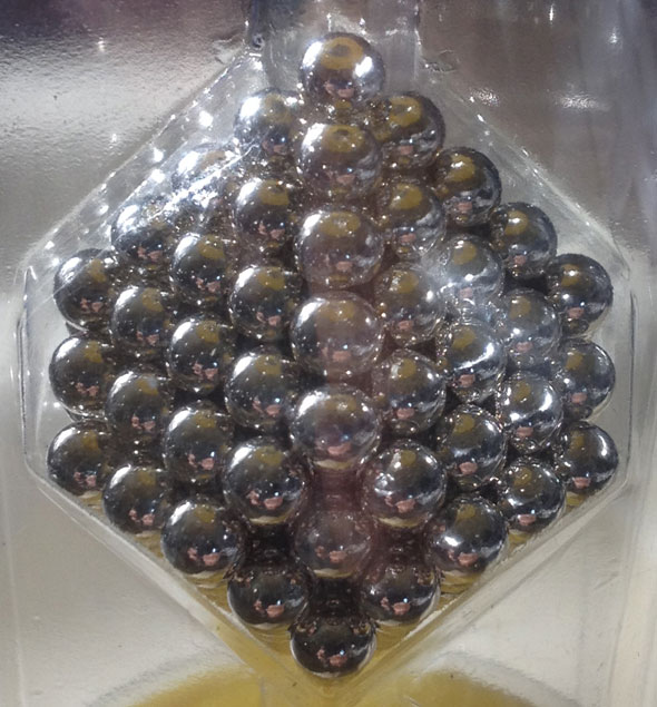 Nanodots Magnetic Constructors (216 NdFeB Magnets) in original packaging