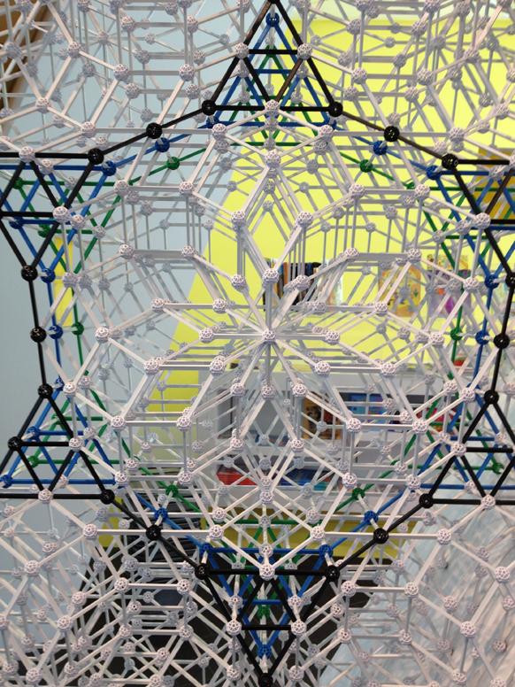 ZomeTool sculpture - Denver Art Museum - side view