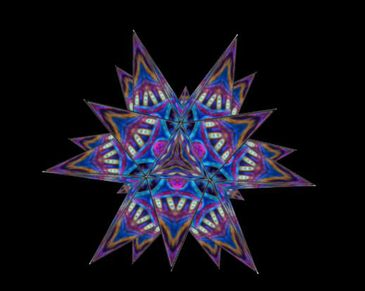 Great Stellated Dodecahedron - Playful Geometer