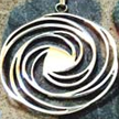 sacred geometry jewelry: Golden Spiral