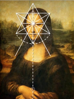 Sacred Geometry in the Mona Lisa by Leonardo daVinci