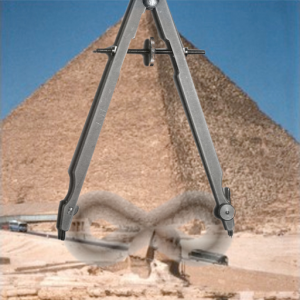 Great Pyramid - Sphinx - Compass - Infinity