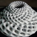Blooms: Strobe-Animated Sculptures
