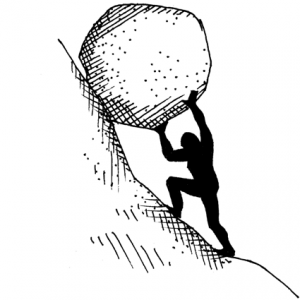 Sisyphus-cartoon