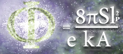 "Golden Ratio - Black Hole Entropy Equation - from ""What is Reality"" video by Quantum Gravity Research"