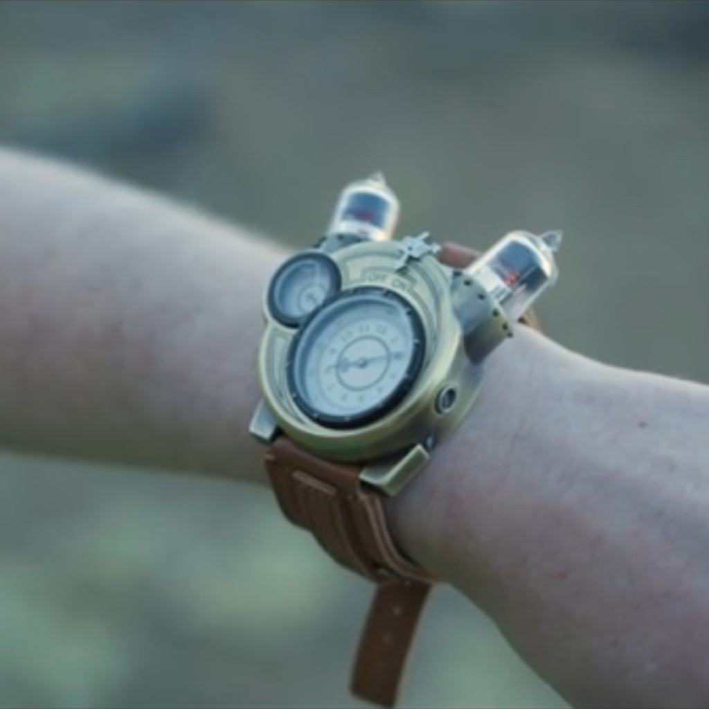 "SciFi - wrist watch - from ""What is Reality"" video by Quantum Gravity Research"