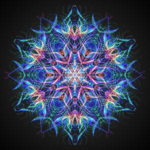 Inspirit – Hexagonal kaleidoscope mandala generator iOS app