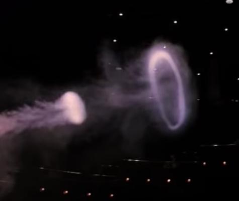 vortex toroïdaux: anneaux de fumée
