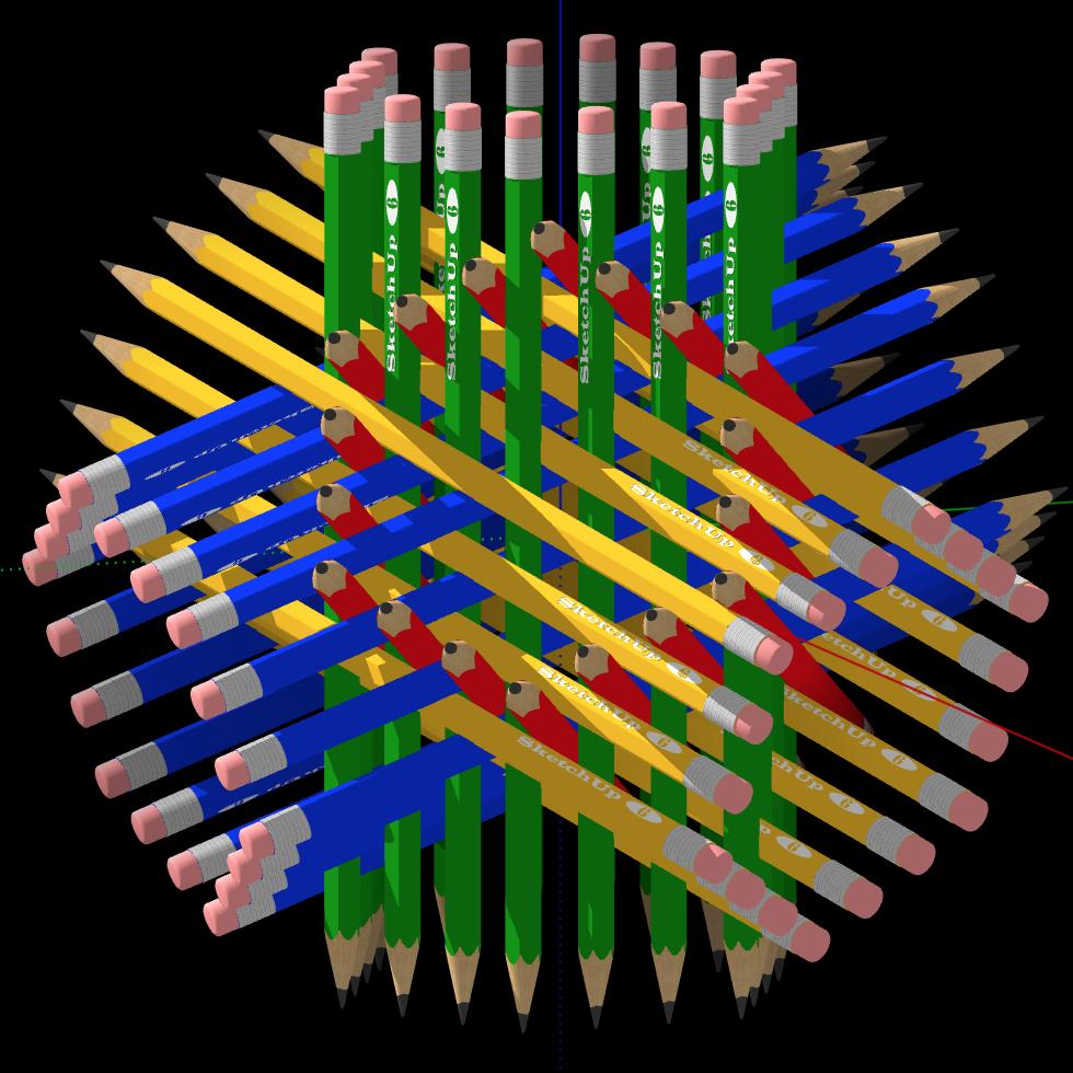 Modèle 3D HexaSticks