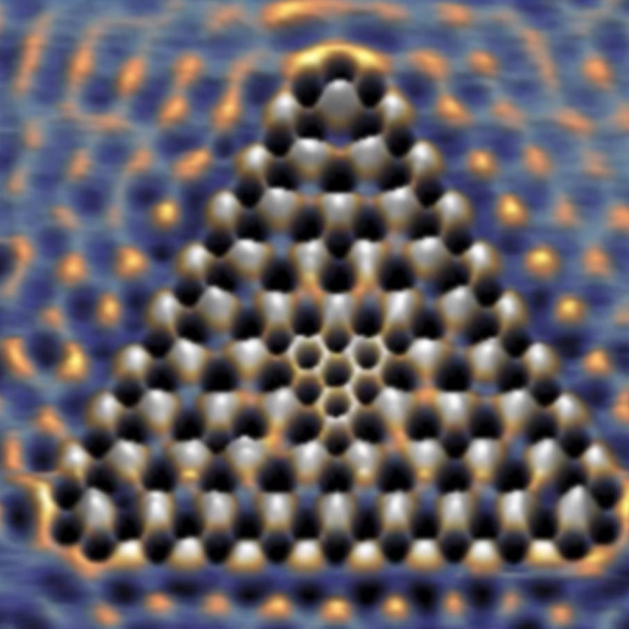 Des scientifiques ont piégé des électrons dans une fractale quantique